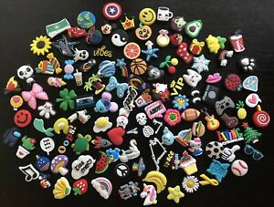 Lot Of 10 Crocs Jibbitz Charms for treasure chest party favors and more