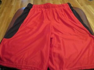 NWT Mens Red amp; Black Under Armour Shorts M $21.97