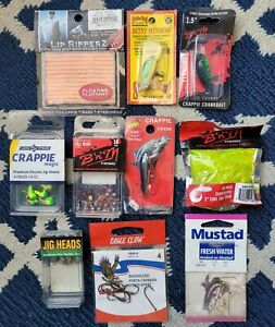 Lot Of New Freshwater Fishing Lures Crappie Bream