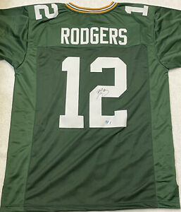 Aaron Rodgers Signed Green Bay Packers Jersey COA $550.00