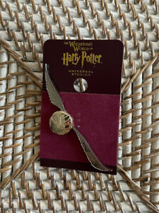 Harry Potter Golden Snitch Quidditch Pin Universal Studios WWOHP $19.95