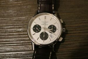 Longines Heritage Chronograph Automatic Panda Dial Box amp; Papers