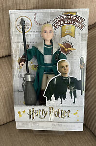DRACO MALFOY Quidditch HARRY POTTER 12 Doll FIGURE New $22.99