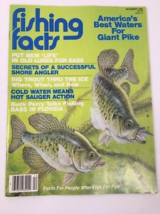 Fishing Facts Magazine December 1982 Best Waters For Giant Pike Old Lures Bass