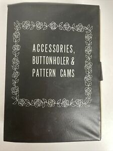 Sears Kenmore Sewing Machine Accessories Buttonholer amp; Pattern Cams $21.73