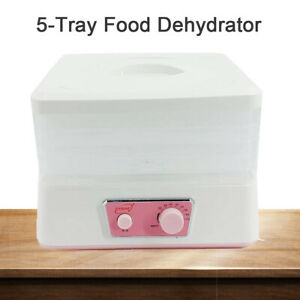 Electric Food Fruit Dehydrator Machine Vegetable Meat Drying Machine Home
