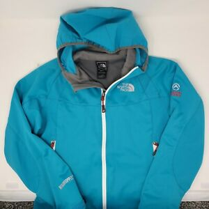 The North Face Summit Series Windstopper Softshell Jacket Womens XS Hooded Blue $39.95