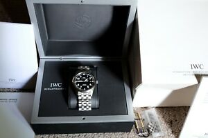 IWC Mark XVI watch Black Dial Box and Papers Great condition Box and papers