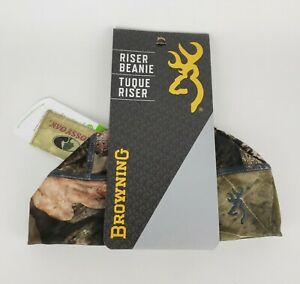 Browning Beanie Riser Skull Cap Camo One Size Camouflage A Tacs New