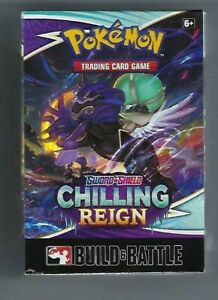 Pokemon TCG: Chilling Reign Build and Battle Box $18.99