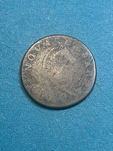 1787 New Jersey Colonial Small Planchet Colonial Copper Cent Penny VERY RARE $199.99