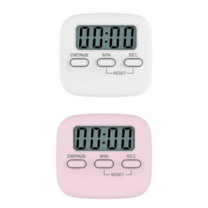 Magnetic Digital Timer Stopwatch Kitchen Cooking Countdown Timer Clock
