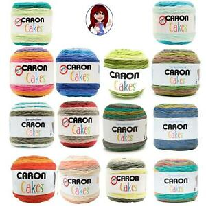 CARON CAKES Yarn 7.1oz 16 Colors to Choose From Many Discontinued Colors