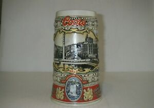 1988 COORS EDITION 1873 ADOLPH COORS BEER STEIN G2075
