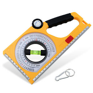 Magnetic Angle Finder Slope Meter 1PC ABS Multifunction Engineering Inclinometer $22.38