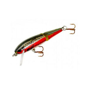 Rebel Jointed Minnow Broke Back Lure Rainbow Trout 3 32 ounce