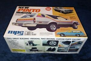 NEW PINTO WAGON MPC 1 25 Vintage Kit f 1976 #1 7728 Complete Parts Sealed $69.99