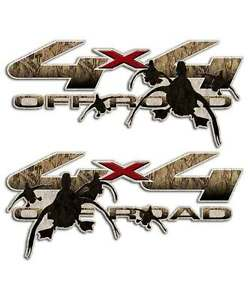 Duck Hunting 4x4 Camouflage Truck Decal Sticker for Ford Max Grass Commander USA