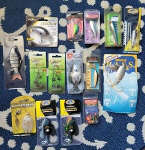 Lot Of NEW Freshwater Fishing Lures Bass