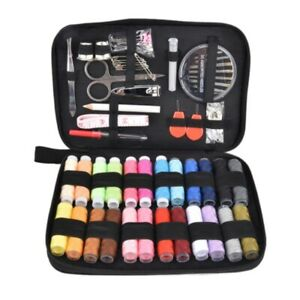 Sewing Kit Needle Thread Threader Tape Scissor Storage Bag Sewing Set with Case $13.30
