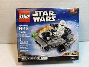 Lego Star Wars 75126 Microfighters Series 3 New Sealed