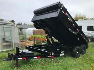 2020 Iron Bull Dump Trailer Like new loads of features