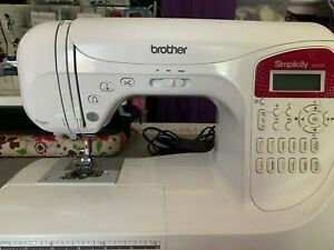 Brother Simplicity SB3129 Portable Sewing Machine with Cutter and Other Extras $129.99