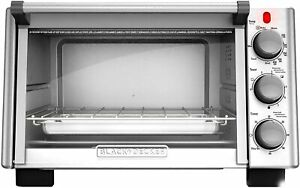 6 Slice Convection Countertop Toaster Oven Stainless Steel Black TO2050S