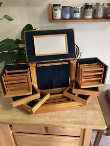 Jewelry Box For your Ease Only by Lori Greiner Large Wooden Organizer $70.00