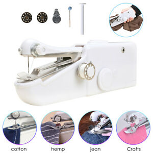 Hand Held Sewing Machine Singer Portable Stitch Sew Quick Handy Cordless Repairs $13.59