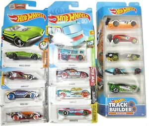 Hot Wheels Track Builder Best for Track Car Lot Carded New