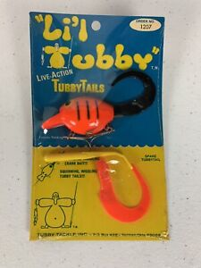 Vintage Storm LIL TUBBY Lure Pre Rapala Tubby Tails Crankbait Fishing #1207