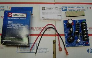 Altronix power supply charger 6V or 12V or 24 VDC 2.5 amp NEW $28.95
