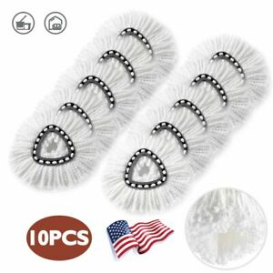 10PCS Mop Head Refill Replacement For O Cedar EasyWring Microfiber Spin Mop $24.99