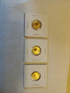 Three 1 10 Ounce American Eagle Gold Coins $690.00