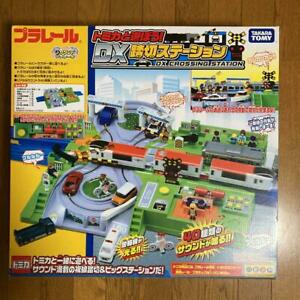 Tommy Takara Plarail LetS Play With Tomica. Dx Level Railroad Station $198.01