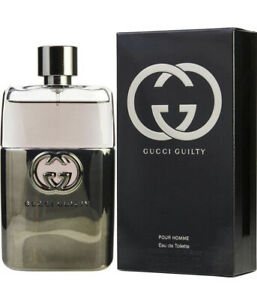 Gucci Guilty Cologne by Gucci 3 oz EDT Spray for Men NEW