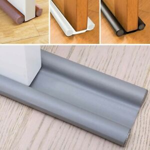 Waterproof Seal Strips Draught Excluders Stoppers Doors Bottom Guard Double Sets $8.22