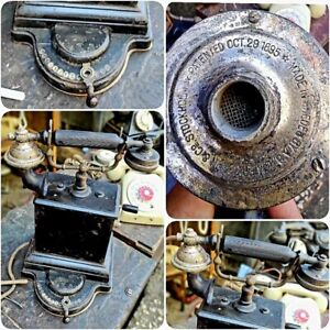 old phone antique from 29 October 1895 $430.00