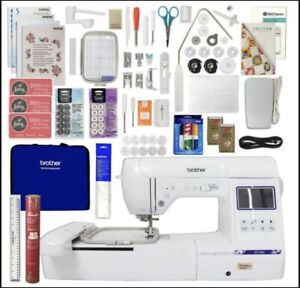 Brother SE1900 Sewing and Embroidery Machine White $900.00