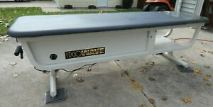 ErgoWave® Spinalator Roller Massage Chiropractic Table Used $1500.00
