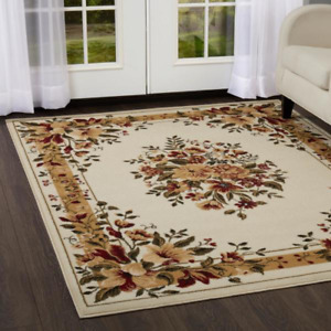 Floral Area Rug Floral 8x10 Clearance For Living Room Large Modern Reduced Price $109.99