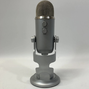 Blue Yeti USB Microphone For Recording And Streaming Silver A00132