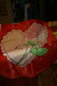 Lot of 7 Large Yard Art Flags Summer Fall Winter Spring Holiday 28quot; x 40quot; $25.00