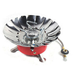 Outdoor Steel Alloy Portable lightweight Gas Stove High Power Camping Stoves USA