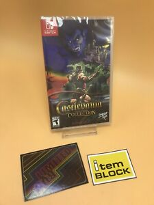 Switch Castlevania Anniversary Collection Card Limited Run LRG IN HAND $66.66