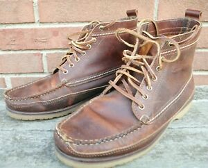 Red Wing J Crew Wabasha 4595 Men#x27;s Used Boots Size 9.5 E