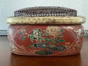 Antique Chinese Hand Warmer Hand Painted $685.00