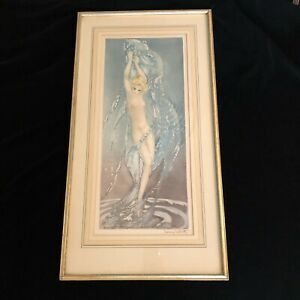 LOUIS ICART FOUNTAIN ORIGINAL SIGNED AND WINDMILL STAMPED ETCHING 1936 $3999.00