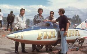 Drogue Chute Hatch from Evel Knievel's X-2 SkyCycle!!
